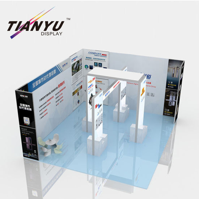 10X10FT Espositori Evento Sfondo Exhibition Booth