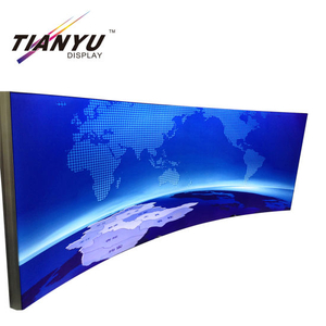Tianyu display di Frameless Indoor / Outdoor Advertising tessuto LED tessile da pavimento Light Box Sign