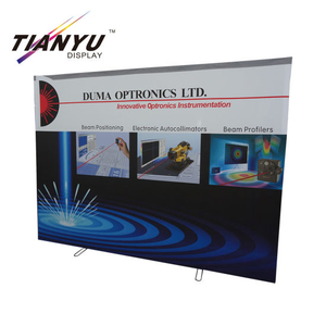 Full Color 3X3 portatile diritta Banner Pop Up Stand