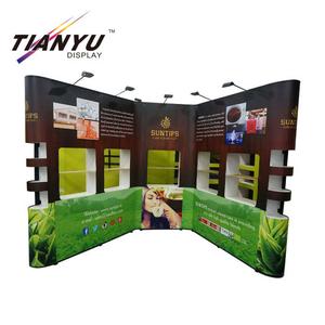 Di vendita caldo pop up banner per Happy Birthday Party bandiera della flessione del Guangdong fabbrica Metal Pop up Banner Display Stand