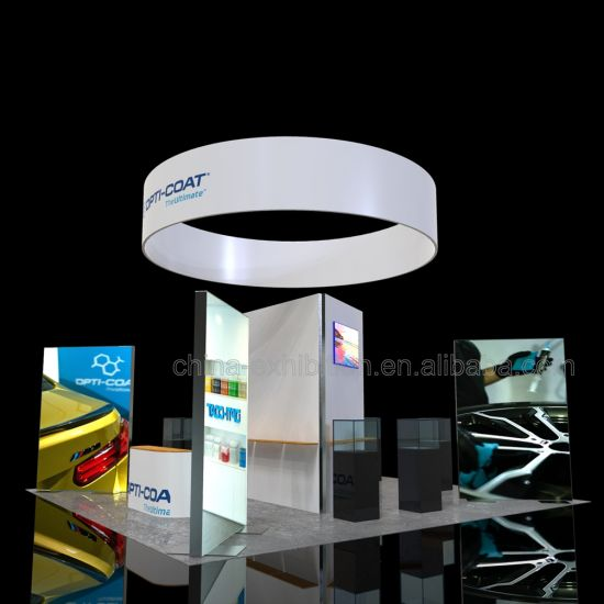 20FT Exhibition personalizzato fiera stand Progettazione Stand Utilizzato per Jiangmen International Exhibition Center